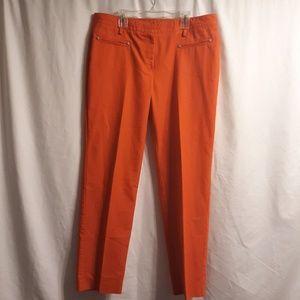 Larry Levine pants orange size 12 average